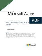 01. Test Lab Guide Azure Base Config