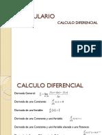 Formulas de Calculo Diferencial