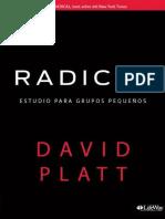 Radical_ Estudio Para Grupos Pe - David Platt.pdf