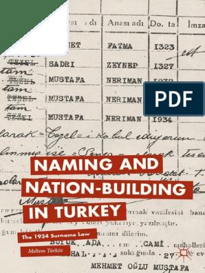 Meltem Turkoz Auth Naming And Nation Buildi B Ok Xyz
