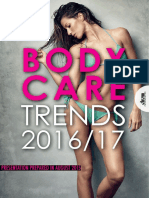 BODY CARE TRENDS 2016