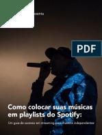 Guia - Playlists do Spotify