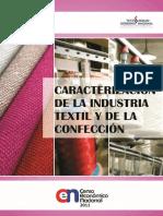 Caracterizacion de La Industria Textil y Confeccion (1)