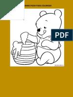 Whinnie Pooh Para Colorear