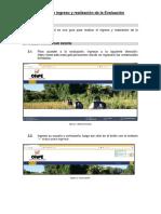 Manual de Ingreso y Realización de La Evaluación