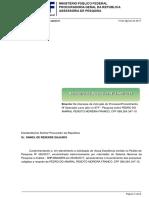 PEDRO DO AMARAL PEIXOTO MOREIRA FRANCO - Relatório de Pesquisa Nº 1440/2017