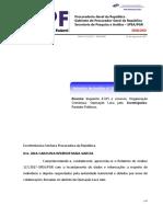 Relatório de Análise nº117/2017 SPEA PGR