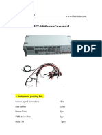 MST-9000+ user's manual