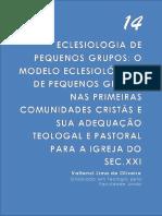 Valtenci Lima Modelo Eclsiologico Pequenos Grupos... FUV