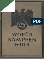 Personalamt Des Heeres - Wofür Kämpfen Wir -1944