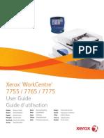 Xerox 7775 Manual