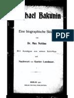 Max Nettlau - Michael Bakunin (1901)