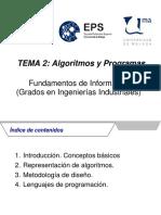 Tema 2 Transparencias Algoritmos