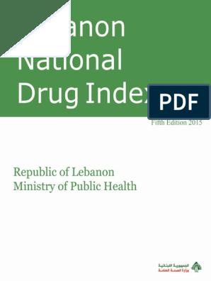 LNDI-2015 pdf | Drugs | Pharmacy