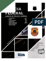 #Polícia Federal - Agente de Polícia - Volume 1 (2016) - Alfacon