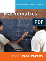 CSEC® Mathematics Past Papers ebook