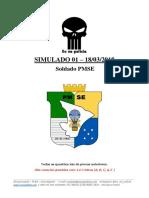 Simulado - PMSE - Soldado 2018