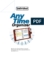 AnyTime Organizer Guide