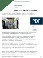 Los Nuevos Trenes de La Línea a Rozan Los Andenes - Lanacion