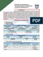 Relatório acidente aéreo em Cabeceira Grande (MG)