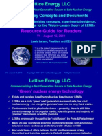 Lattice Energy LLC-Index to Concepts and Documents-Sept 2009