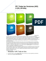 Windows 7 SP1 Todas Las Versiones