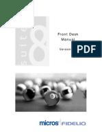 Version8 FrontDesk Manual