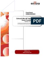 GSM2228CB- Enfora Mini-MT Cook Book - Revision 1.01