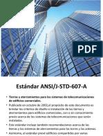 NORMAS Y ESTANDARES DE CABLEADO ESTRUCTURADO_S_ANSI J-STD-607-A.pptx