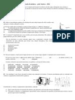 Separação de Misturas - Lista de Exercicios - Prof Gustavo 1 AnoEM 2014