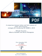 2010-09 - Anticipatory strategies for introducing ISO 26000 in 2010