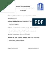Reporte Global Servicio Social