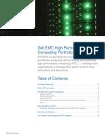HPC Portfolio - Solution Overview