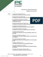 Elaboración de Memorandos para la implementación de sistemas de neutrinos medicos especiales