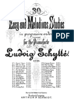 Ludwig Schytté - Easy and Melodious Studies in Progresive Order Composed for the Pianoforte