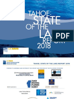 State of the Lake Tahoe 2018