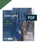 Auckland Light Rail Briefing by NZTA - August 2018