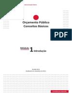 Orçamento Público Conceitos Básicos - Módulo  (1)