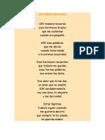 Una Poesia Para Mamá