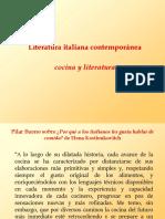 Literatura italiana contemporánea y cocina (1)