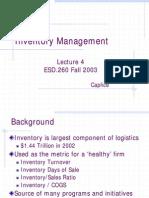 04 - Inventory Management