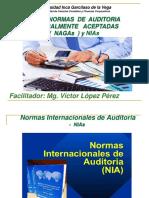 Las Normas de Auditoria NAGAs Unidad 2 Semana 4