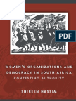 [Women in Africa and the Diaspora] Shireen Hassim - Women's Organizations and Democracy in South Africa_ Contesting Authority (2006, University of Wisconsin Press).pdf