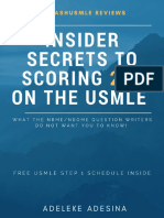 The Official Insider Secrets to 260
