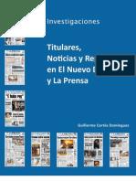Informe Final de Investigaciones de Titulares Noticias y Reportajes
