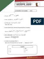 Simulacro - Algebra