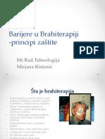 4 Barijere u Brahiterapiji(Principi Zaštite)