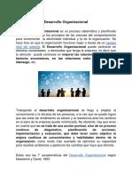 Desarrollo Organizacional- Mauricio Atri Cojab