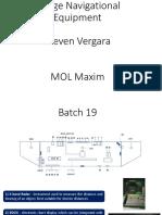 Navigational Bridge Equipments