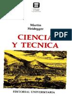 Ciencia y Técnica - M. Heidegger.pdf